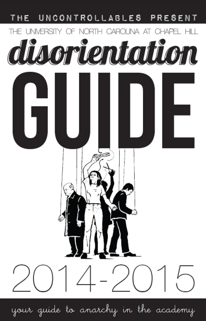 Zine étudiant anarchiste