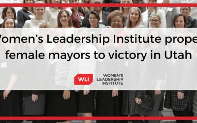 Women's Leadership Institute propels female mayors to victory in Utah