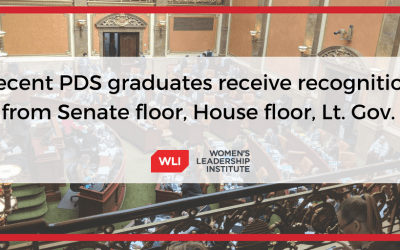 Women's Leadership Institute recent Political Development Series graduates receive recognition from Senate floor, House floor, Lt. Gov.