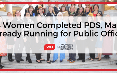 Forty-four Women Completed Political Training with Women's Leadership Institute, Many Already Running for Public Office