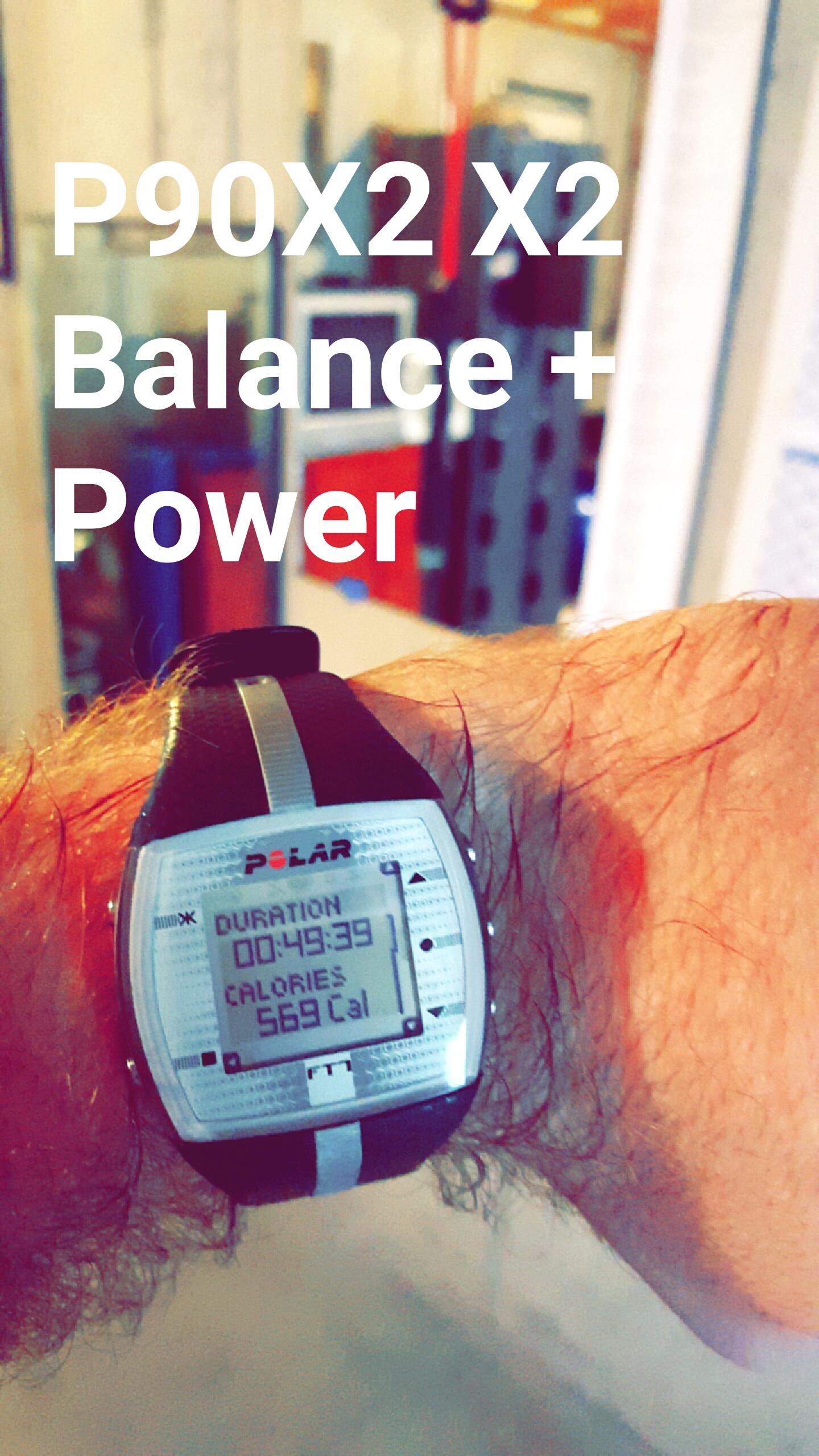P90x2 X2 Balance Power