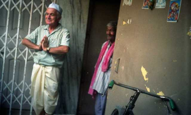 Do Indii dojechałem drogą lądową. (Fot. archiwum Tadeusza Płatka)