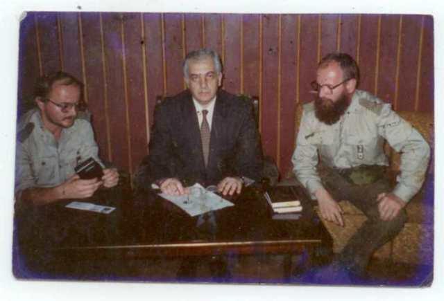 Z pierwszym prezydentem Gruzji_Archiwum Zeflika Chłódka