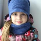 Шарф и шапка для девочки (42 фото): комплект детские ...