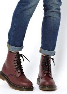 Мартинсы 2019 (99 фото): мужские и женские зимние ботинки ...