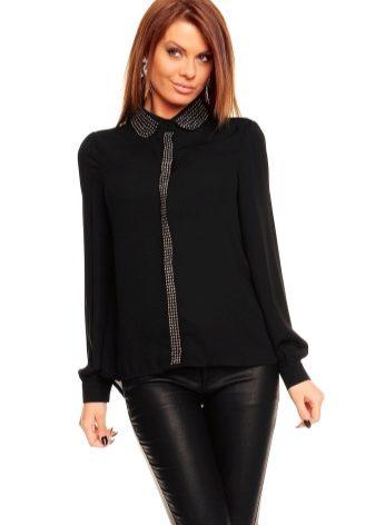 Черная блузка (66 фото): с чем носить, дизайнерские блузки ...