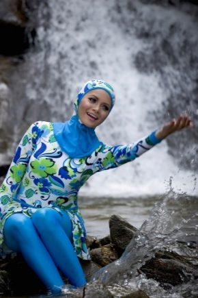 Мусульманский купальник (56 фото): модели буркини для ...