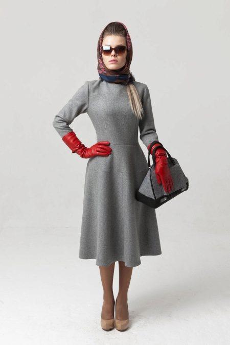 Платья 50-х годов (39 фото): женские фасоны