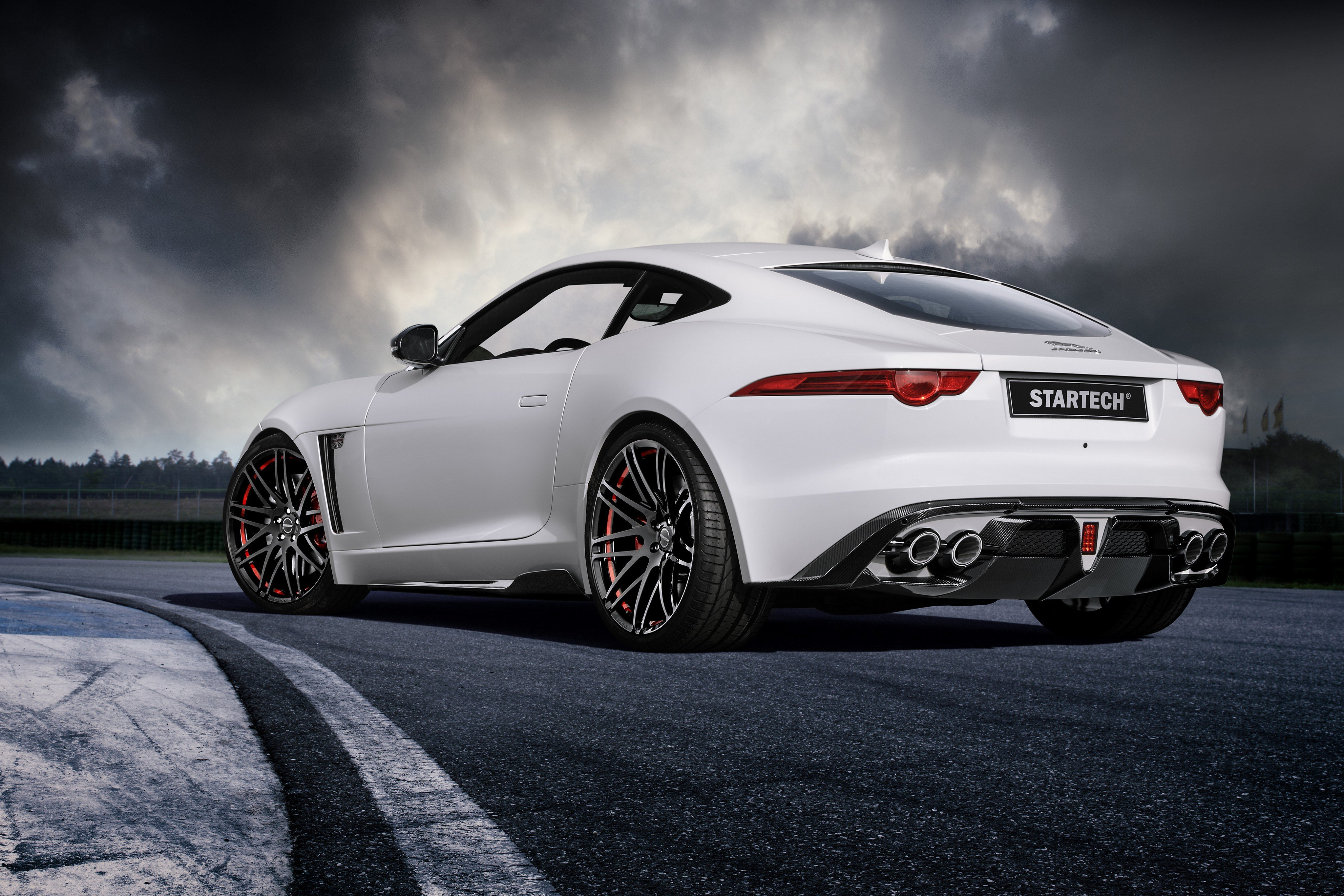 New Wallpaper Jaguar F Type Coupe White Startech Cars On This Month
