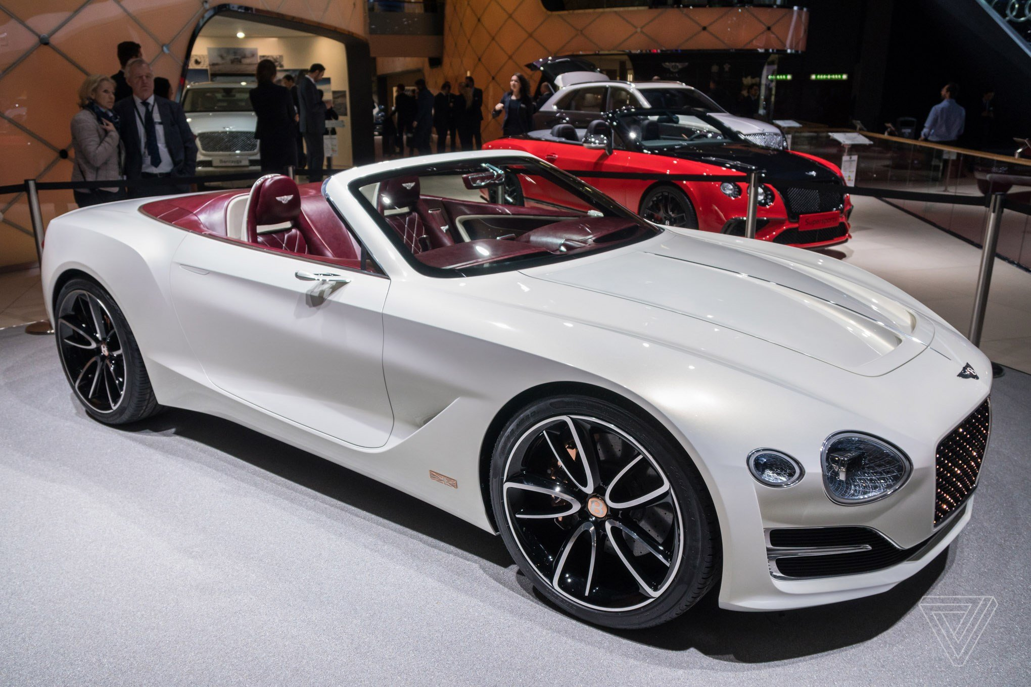 New Bentley Challenges Tesla's Idea Of Electric Luxury With A On This Month