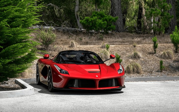 New Download Wallpapers Ferrari Laferrari Supercar Red On This Month