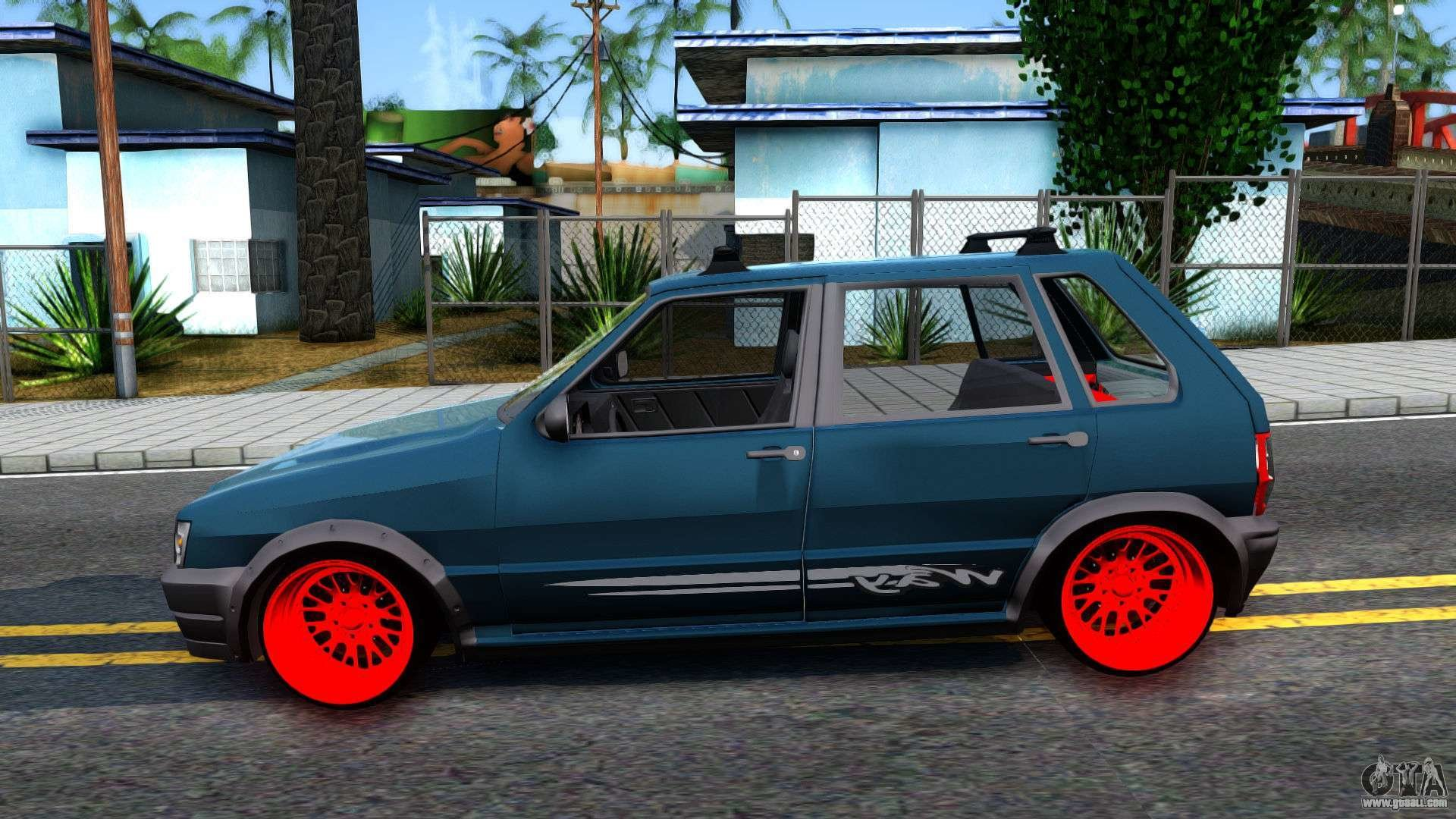 New Fiat Uno For Gta San Andreas On This Month