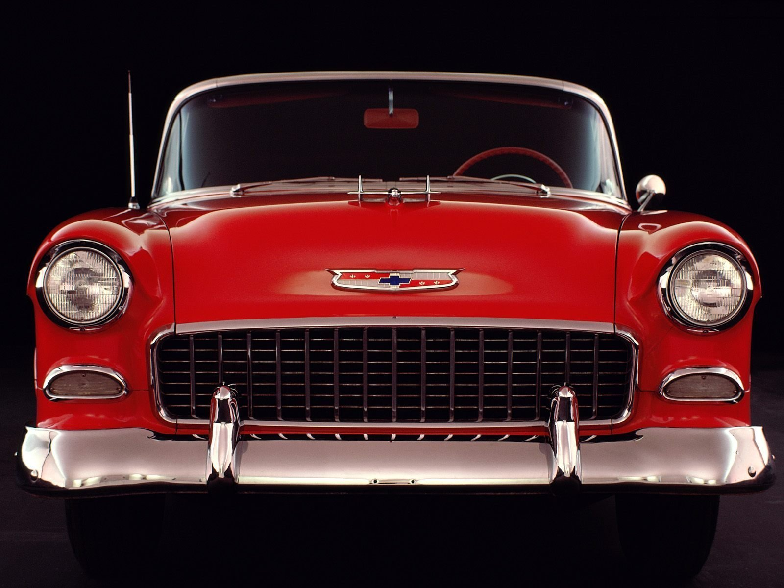 New 1955 Chevy Wallpapers For Desktop Wallpapersafari On This Month