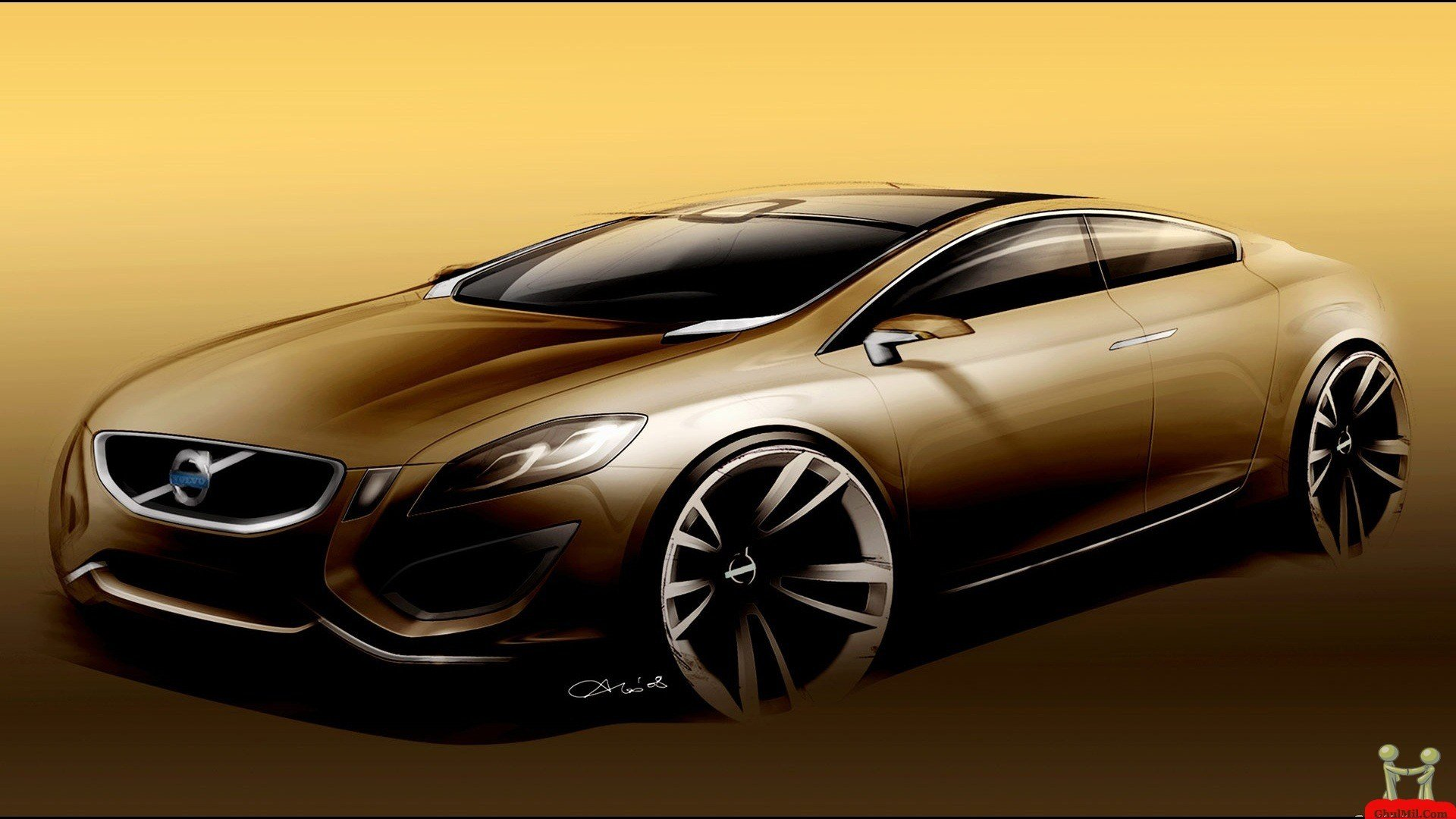 New Cool Gold Cars Wallpapers Wallpapersafari On This Month
