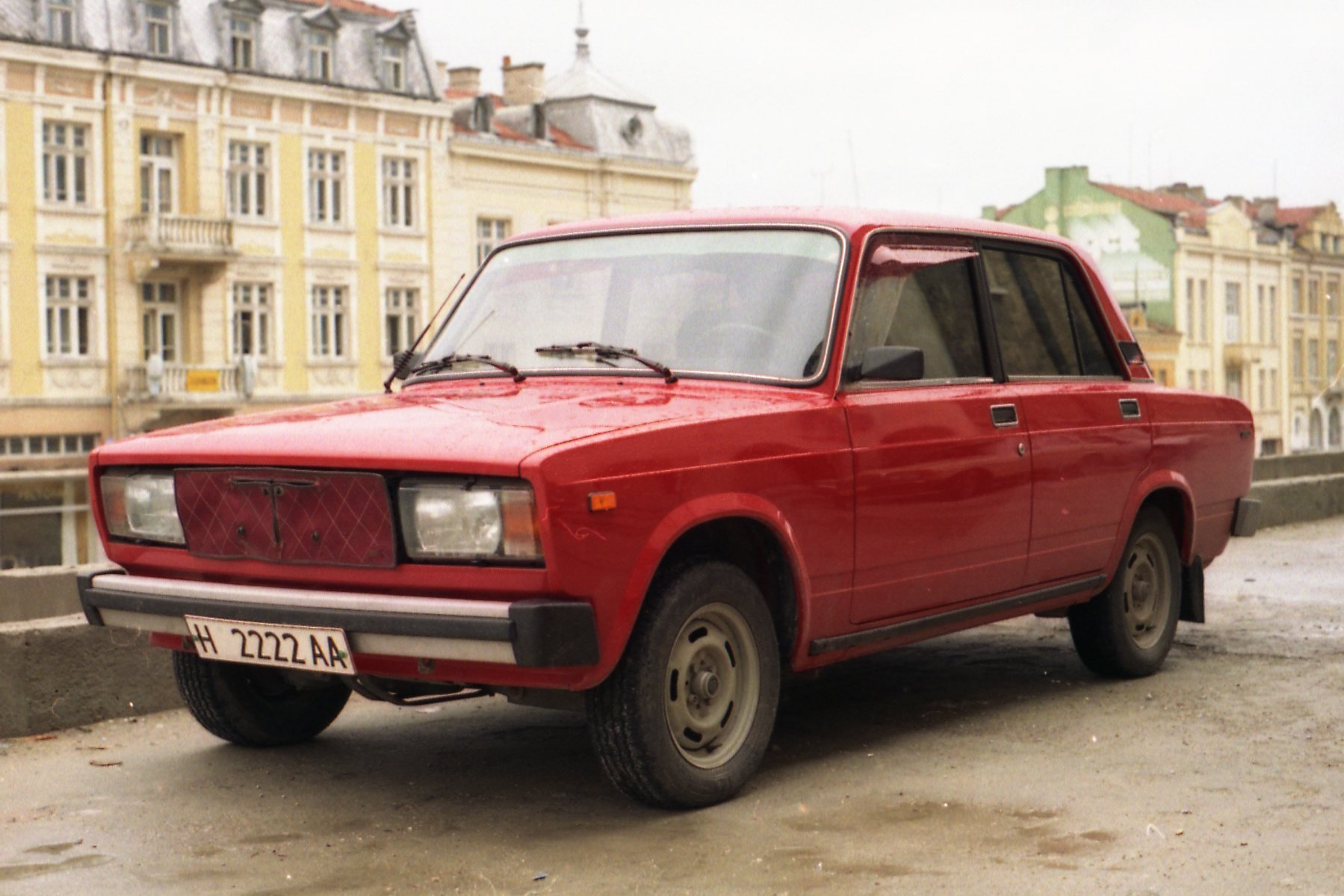 New File Lada Auto H 2222Aa Шумен Shumen Bulgaria Photo By On This Month