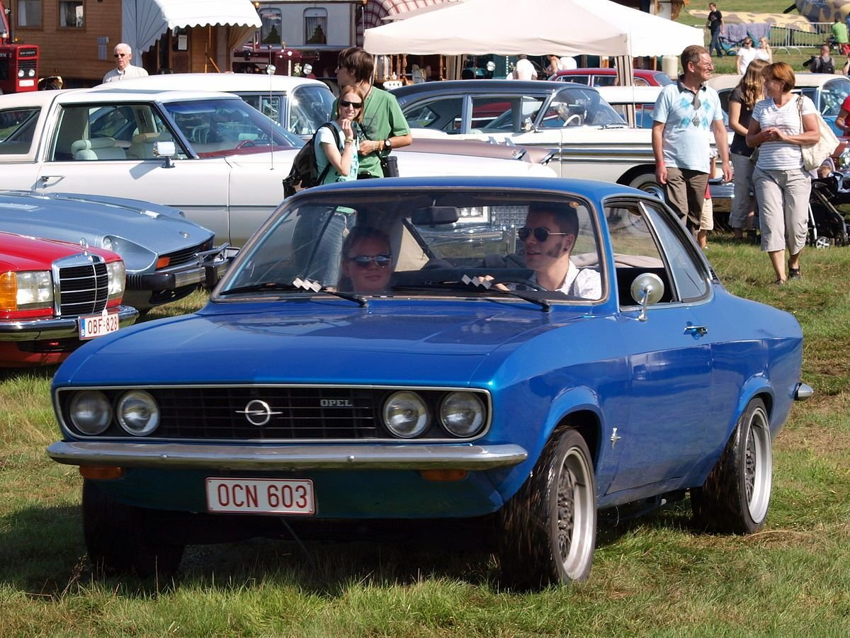 New Opel Manta Wikipedia On This Month