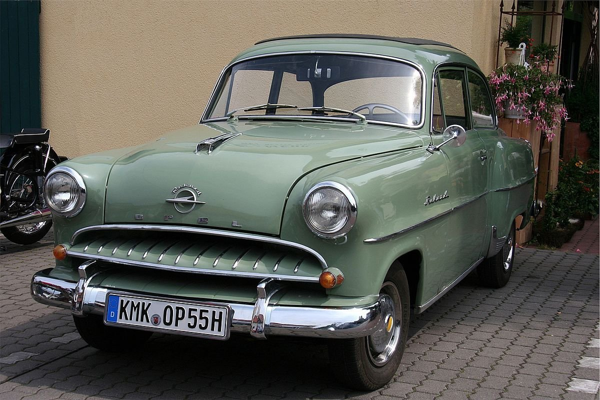 New Opel Olympia Rekord Wikipedia On This Month