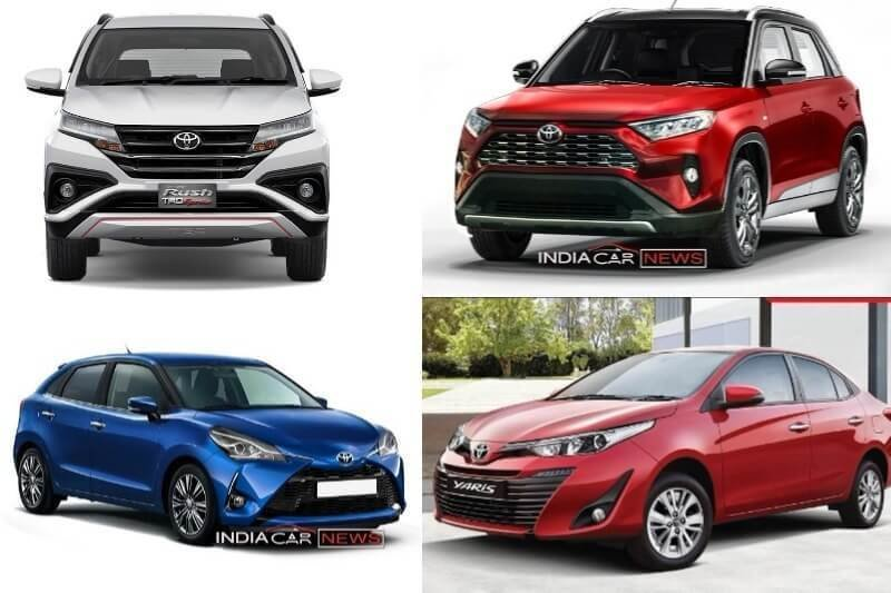 New Upcoming Toyota Cars In India 2018 2019 7 Cars On This Month