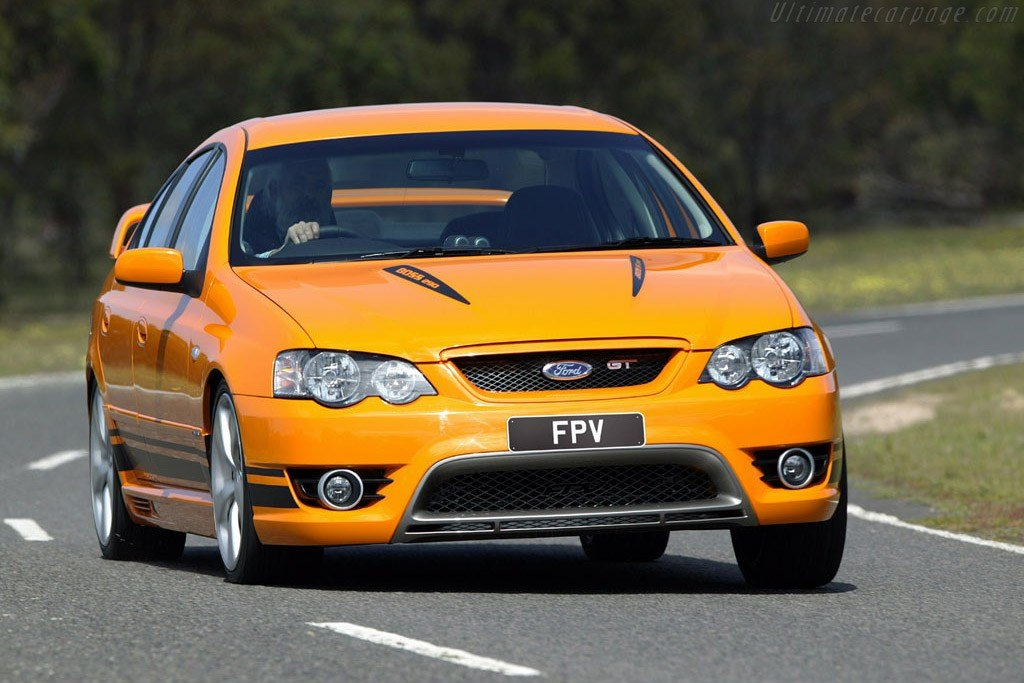 New 2006 2008 Ford Bf Falcon Mkii Fpv Gt Images On This Month