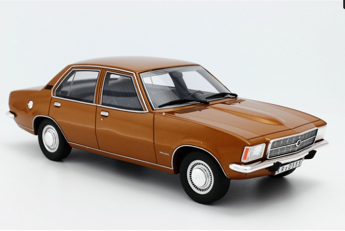 New 1973 Opel Rekord D 2100D Model Cars Hobbydb On This Month
