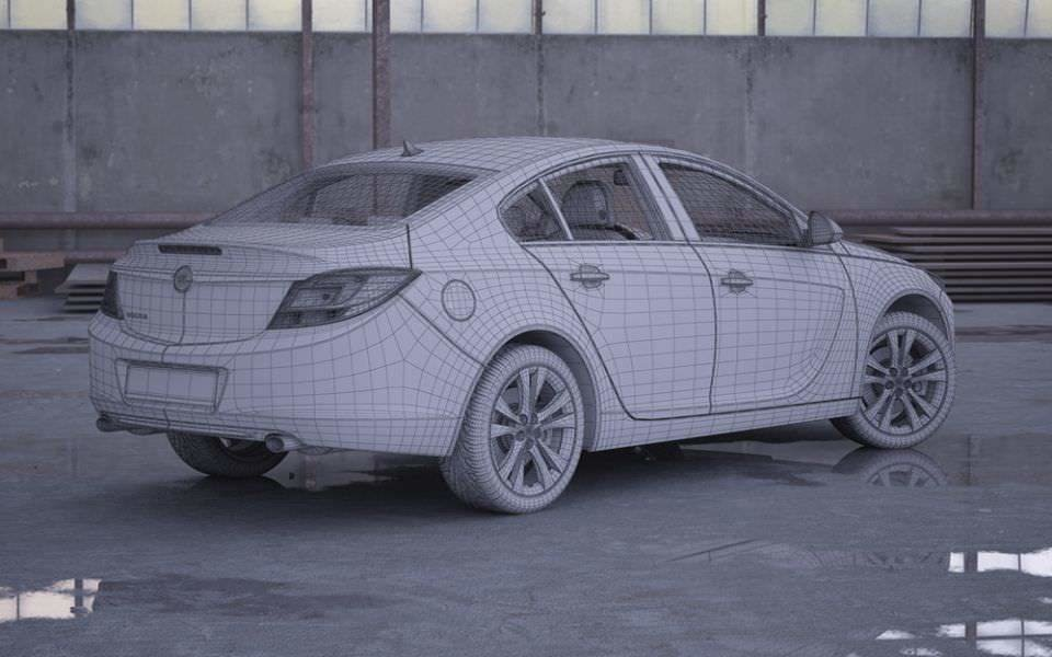 New Opel Insignia Car 3D Model Cgtrader Com On This Month