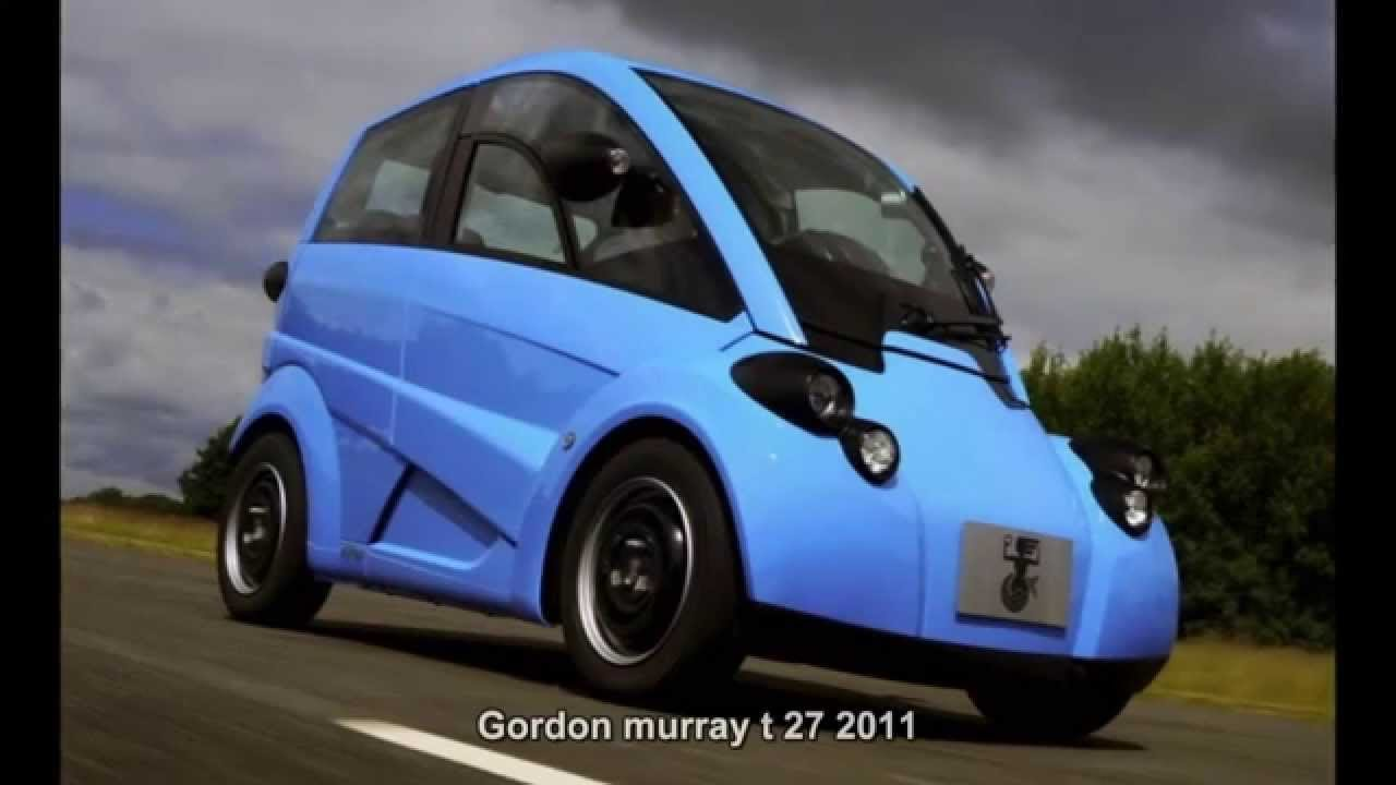New 1397 Gordon Murray T 27 2011 Prototype Car Youtube On This Month