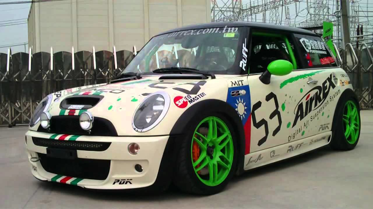 New Mini Cooper S R53 Ttcc Racing Car With Airrex Digital Air On This Month