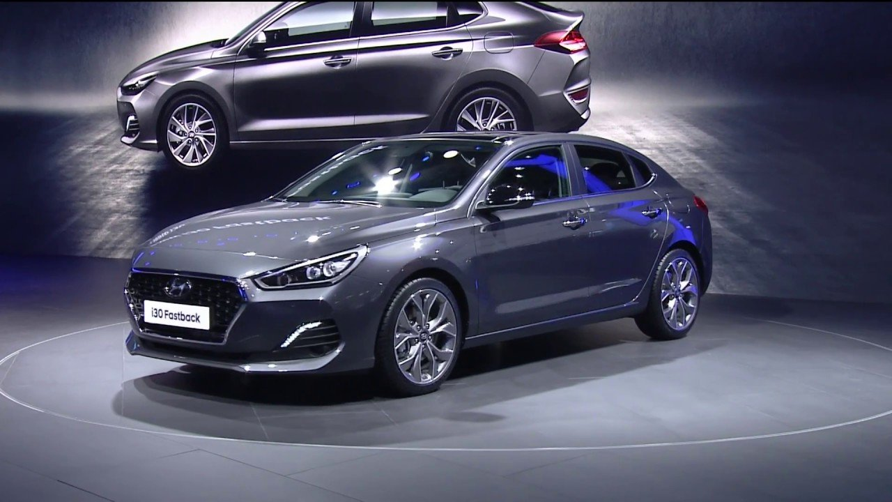 New Hyundai I30 Fastback Premiere At The Frankfurt Motor Show On This Month