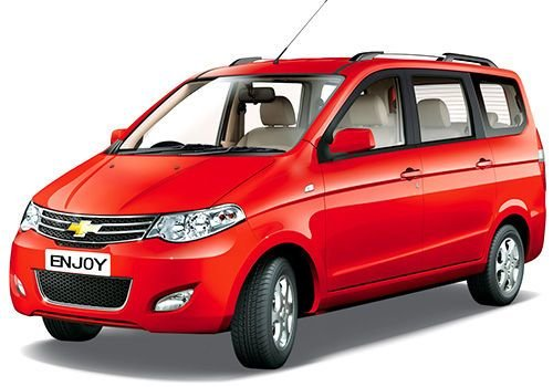 New Chevrolet Enjoy Price Images Reviews Mileage Specification On This Month