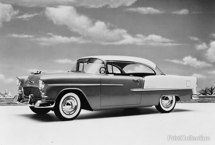 New Milestone Model In Gm History A Car Of This Model 1955 On This Month