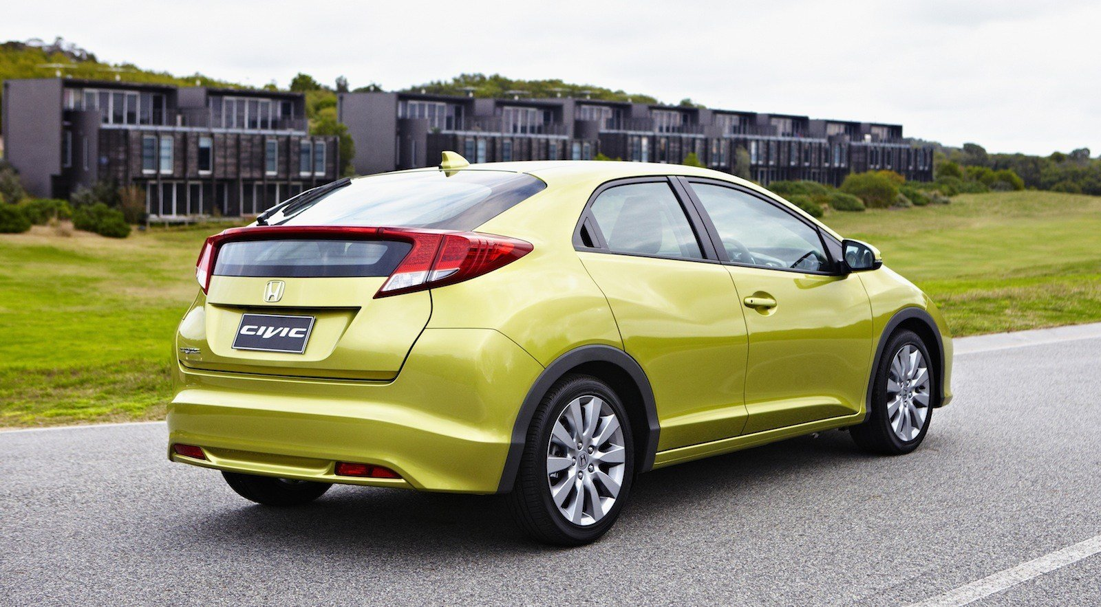 New Honda Civic Hatch Review Photos Caradvice On This Month