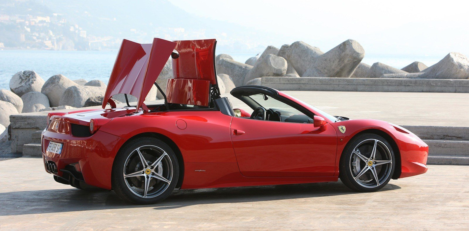 New Ferrari 458 Spider Review Photos Caradvice On This Month