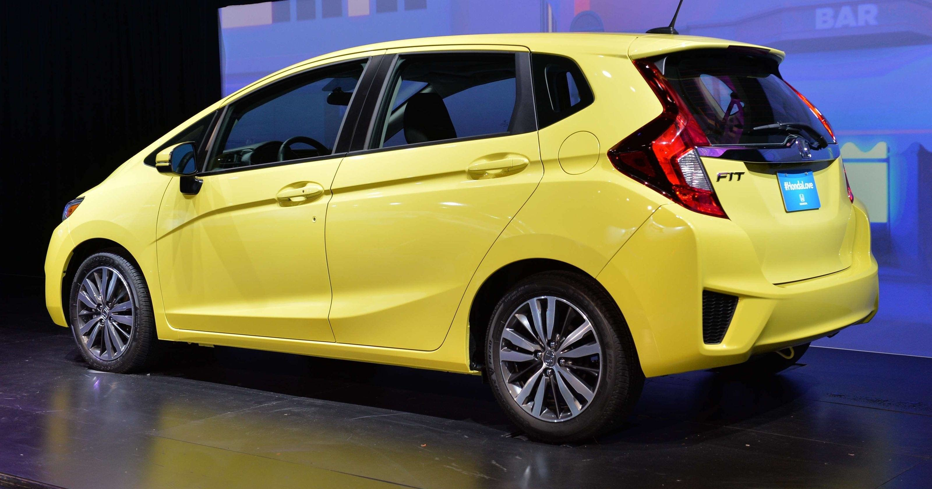 New Honda S 2015 Fit A Small Car With Big Dreams On This Month