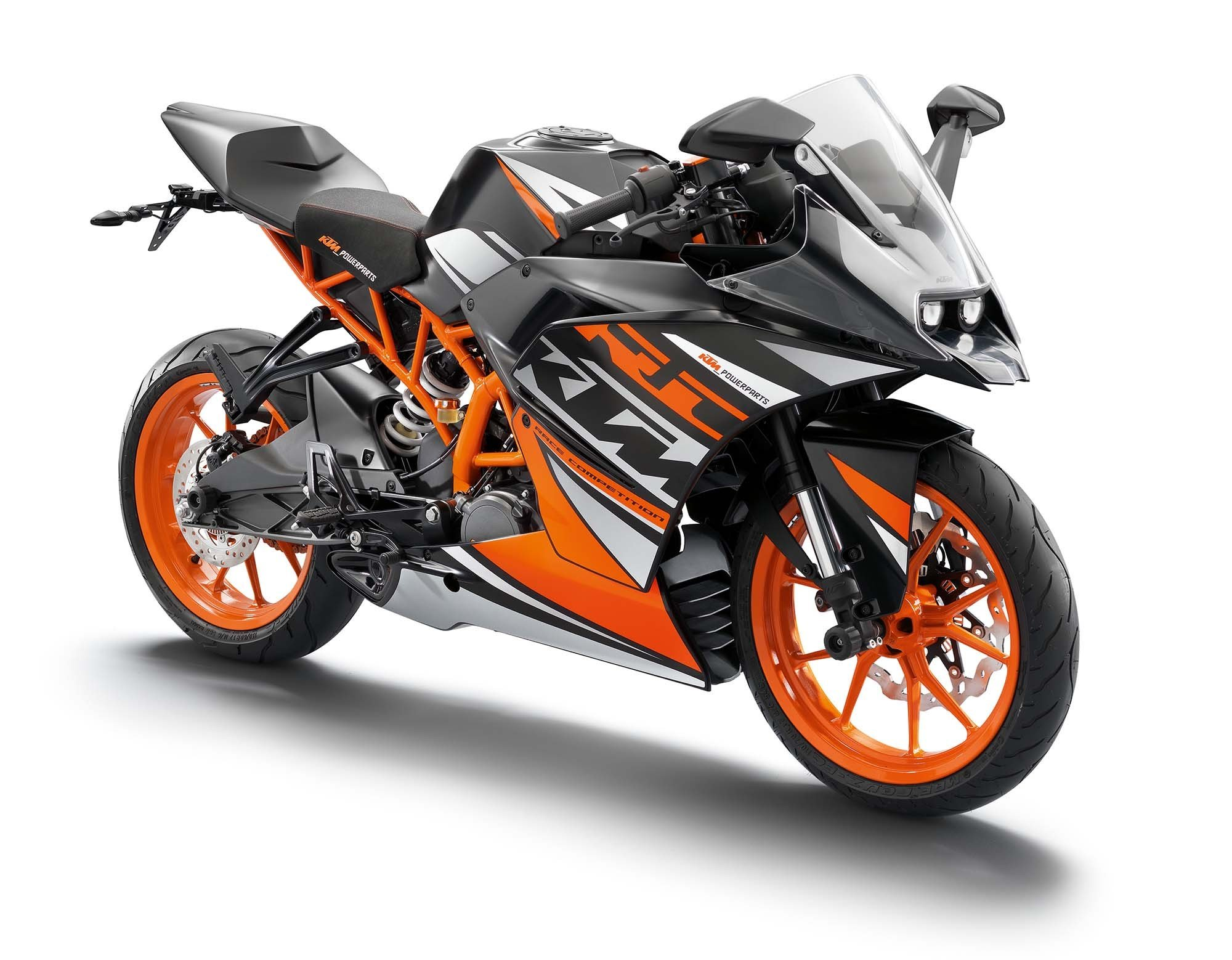 New 2014 Ktm Rc200 Ktm Rc125 The More The Merrier On This Month