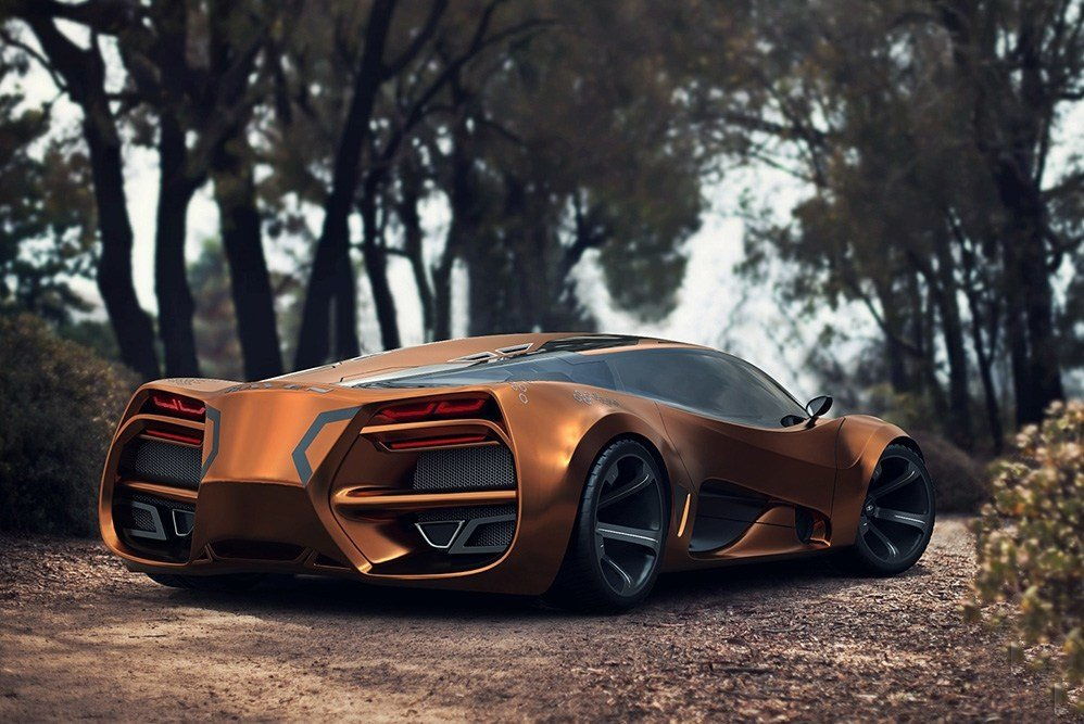 New Lada Raven Supercar Concept Concept Cars Diseno Art On This Month