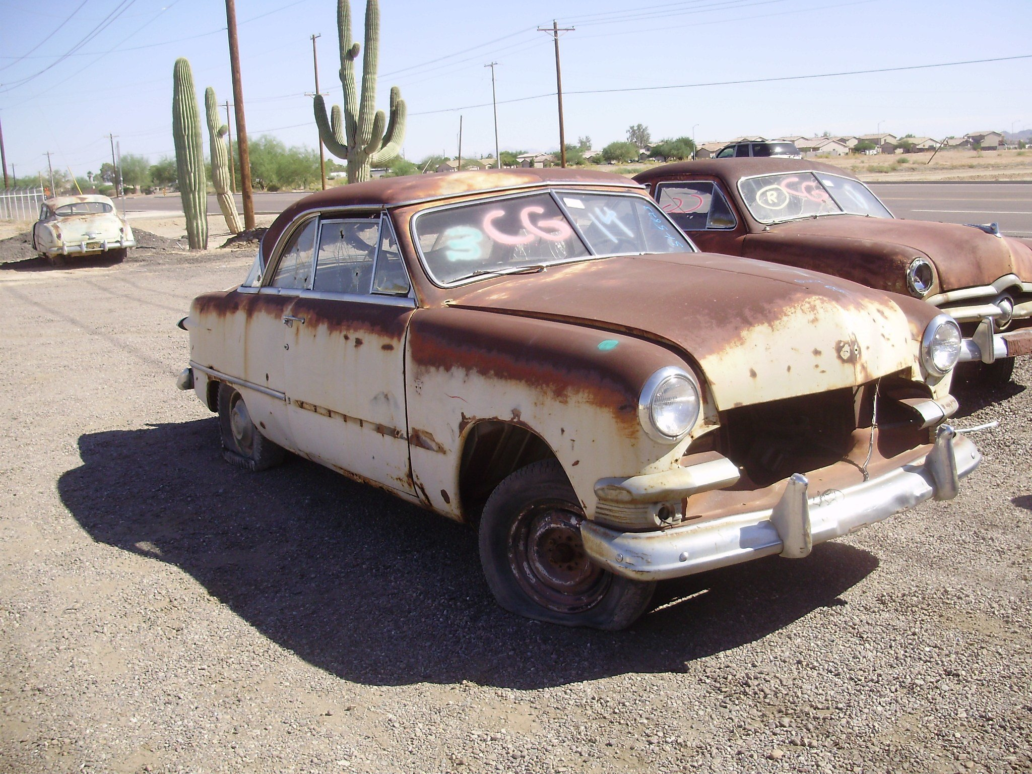 New 1951 Ford Ford Car 51Fo5823C Desert Valley Auto Parts On This Month Original 1024 x 768