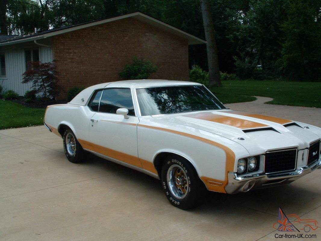 New 1972 Hurst Olds Indy Pace Car W Power Sunroof 1 Of 220 Made On This Month
