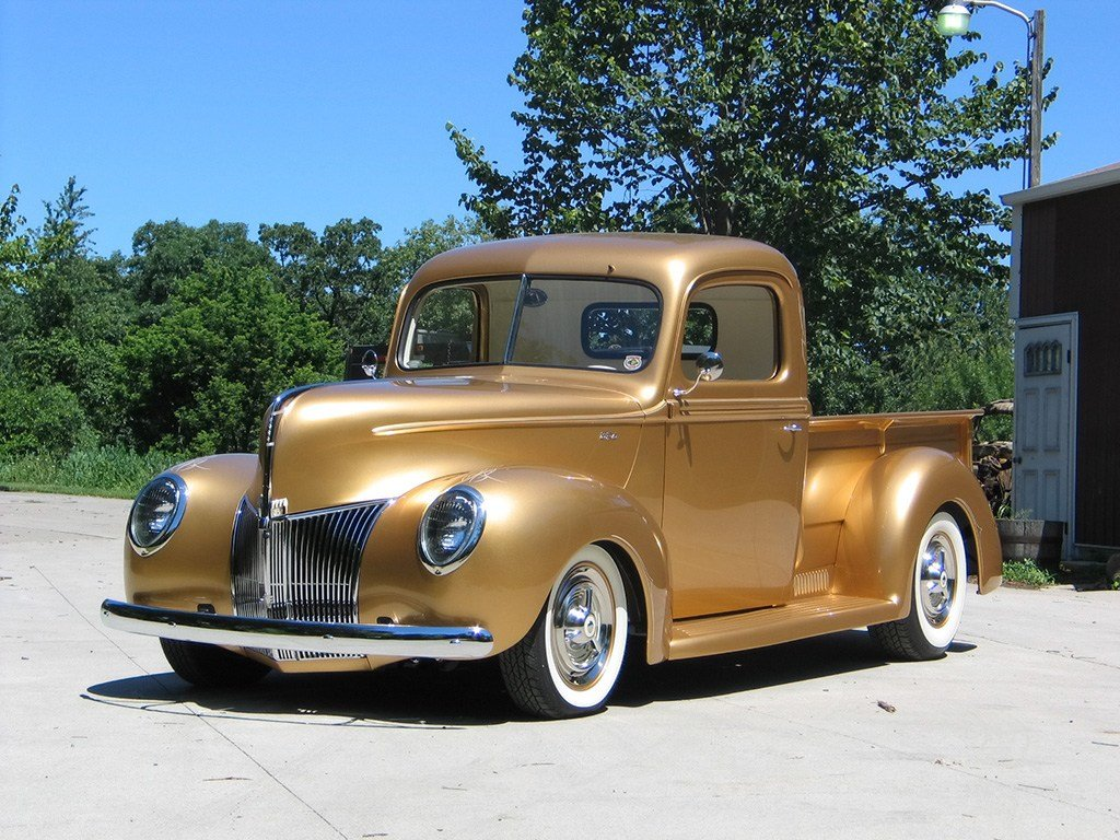 New 1940 Ford Pickup By Fastlane Rod Shop News Top Speed On This Month Original 1024 x 768
