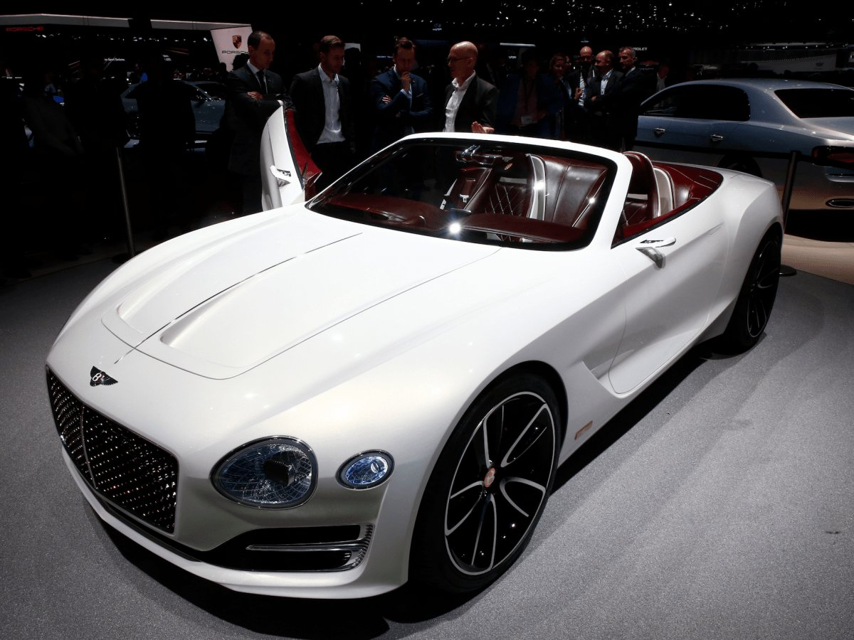 New Bentley Unveils First Electric Concept Car Photos On This Month