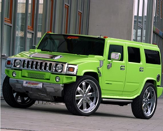 New Automobile Touch Hummer H2 On This Month