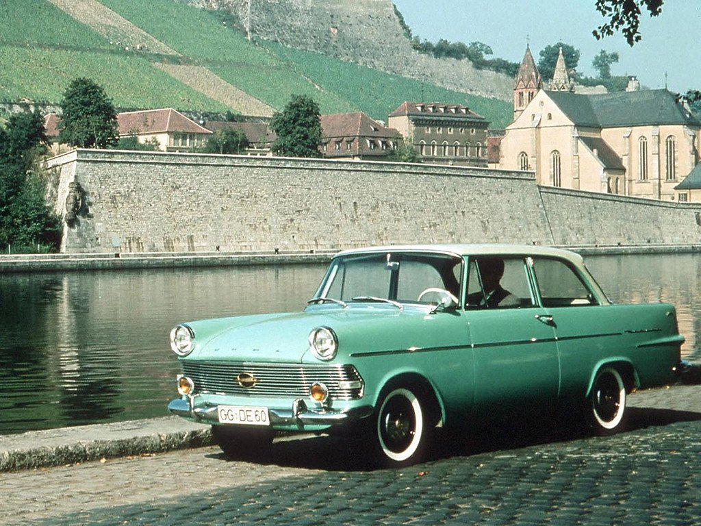 New Avengers In Time 1960 Cars Opel Rekord P2 On This Month