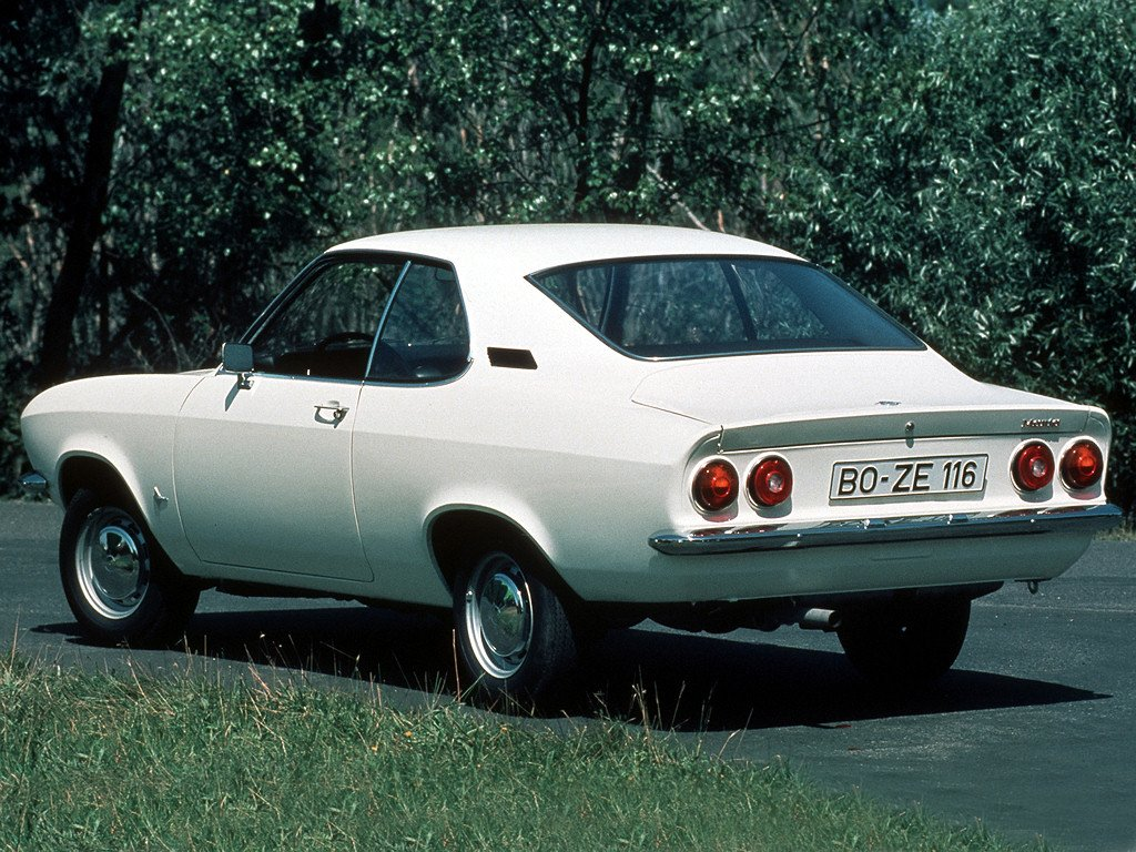 New Avengers In Time 1970 Cars Opel Manta A On This Month