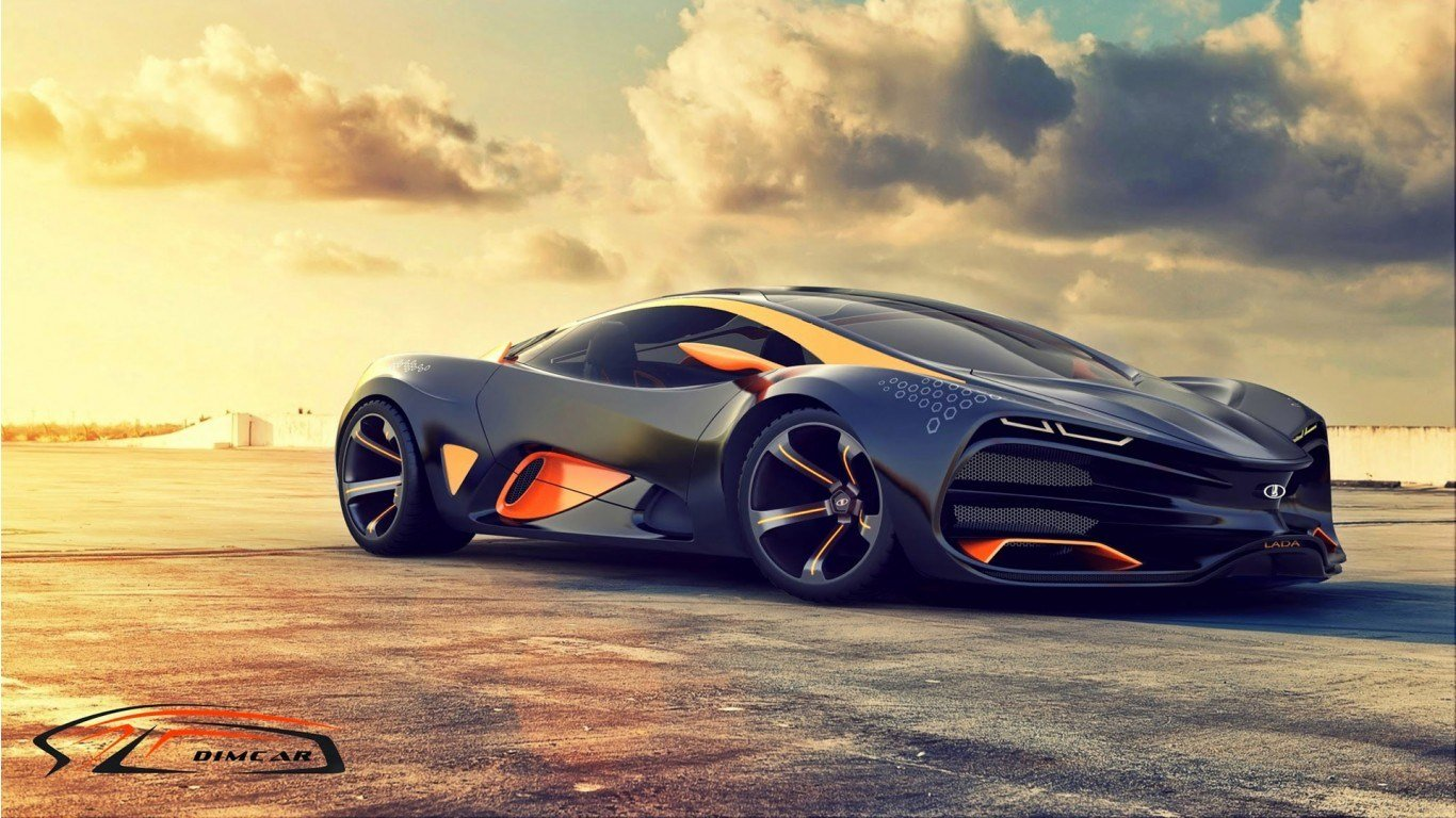 New 2015 Lada Raven Supercar Concept 2 Wallpaper Hd Car On This Month