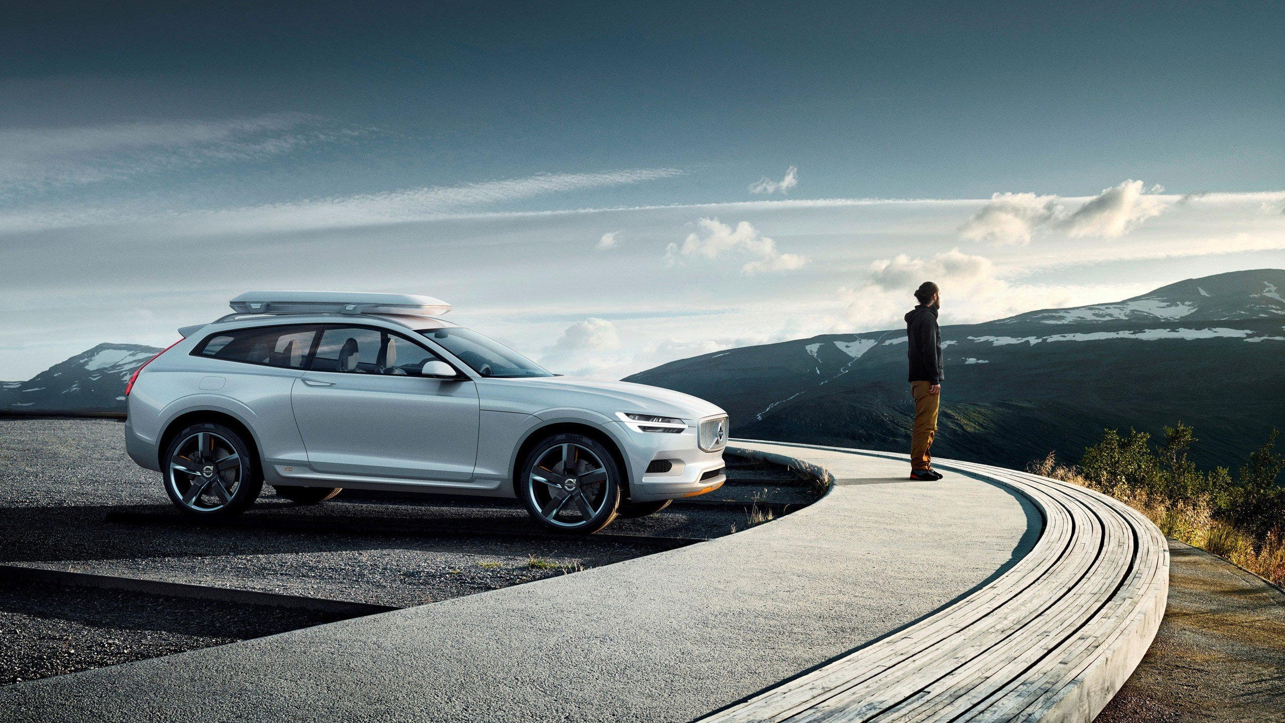 New Volvo Xc Coupe Concept 2014 Wallpaper Hd Car Wallpapers On This Month