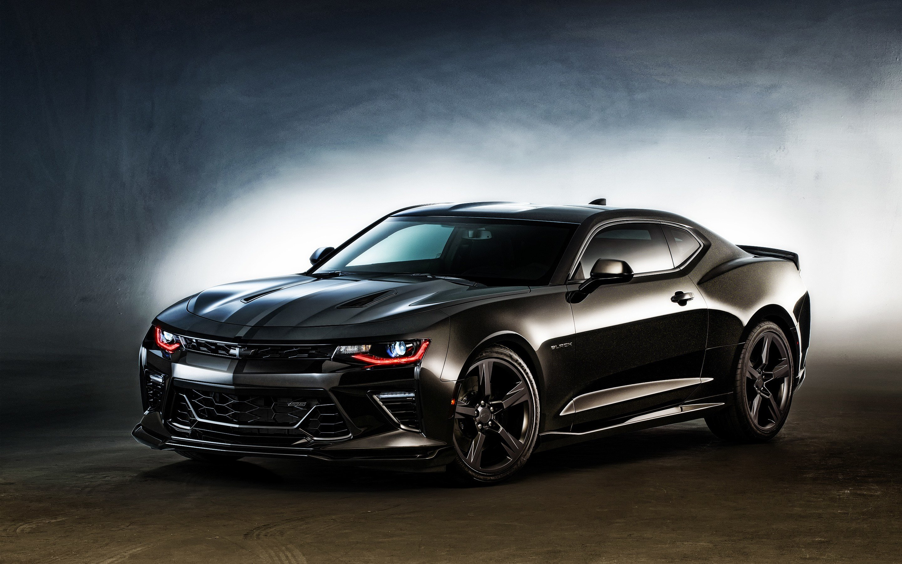 New 2016 Chevrolet Camaro Black Wallpaper Hd Car Wallpapers On This Month