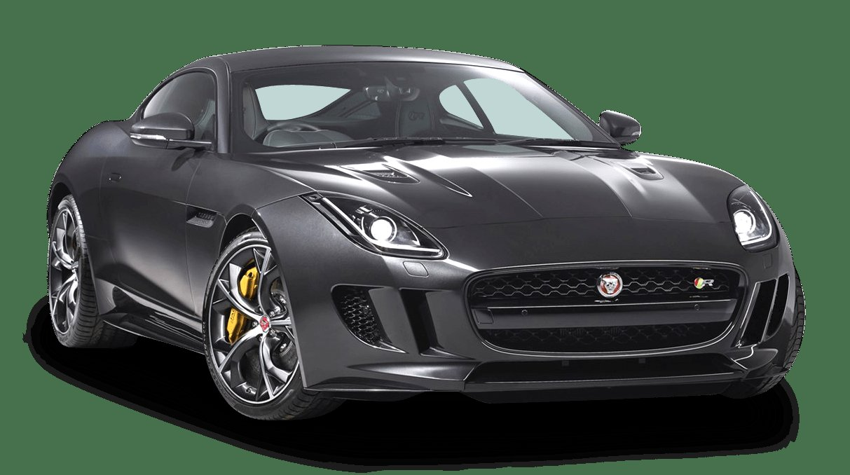 New Black Jaguar F Type Coupe Car Png Image Pngpix On This Month