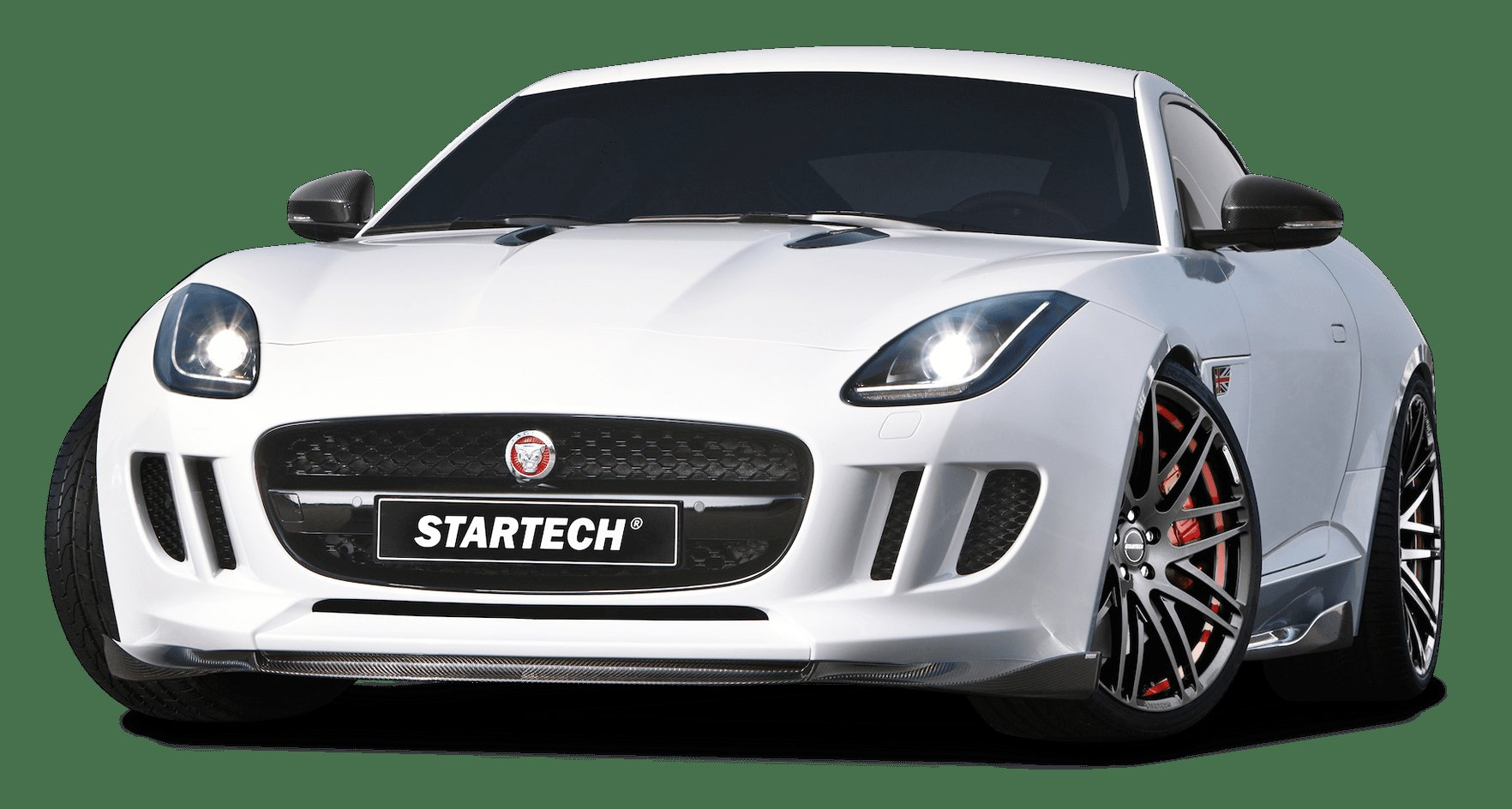 New White Startech Jaguar F Type Coupe Sports Car Png Image On This Month