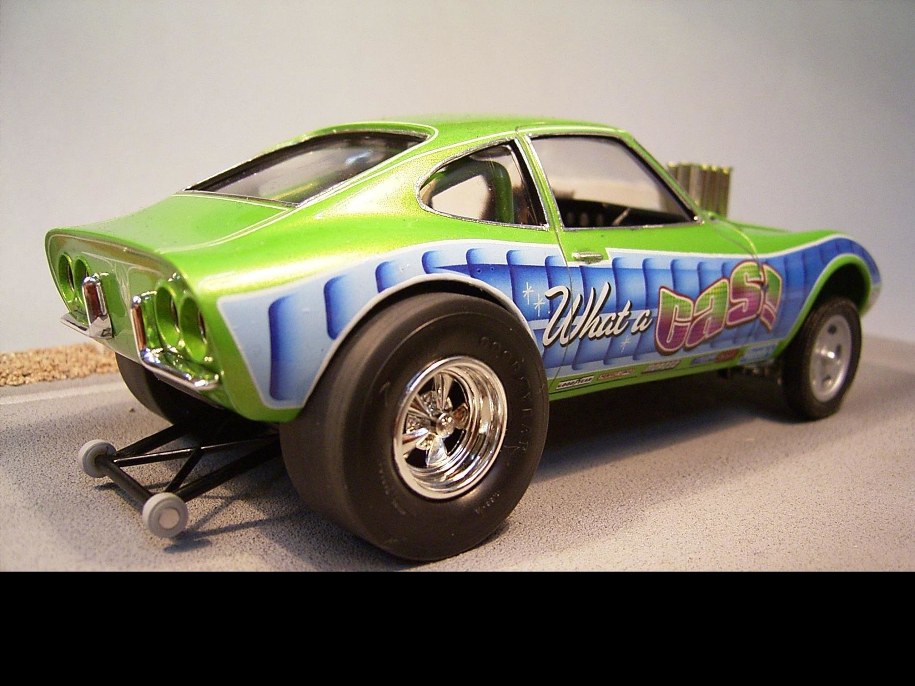 New Opel Gt Gasser Drag Racing Models Model Cars Magazine On This Month