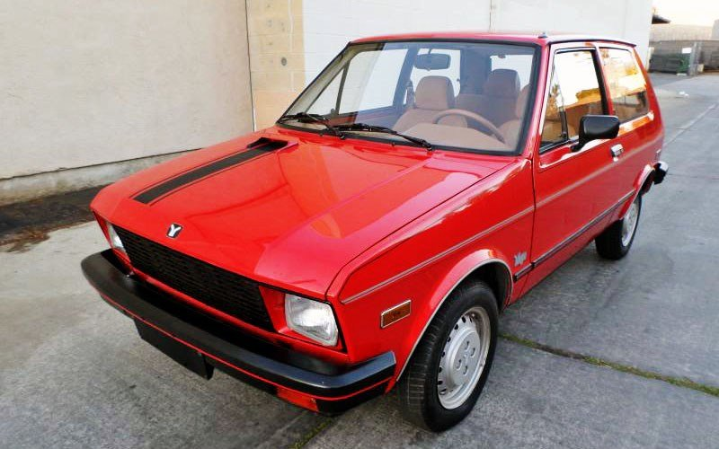 New The Best Worst Car Ever 1986 Yugo Gv On This Month