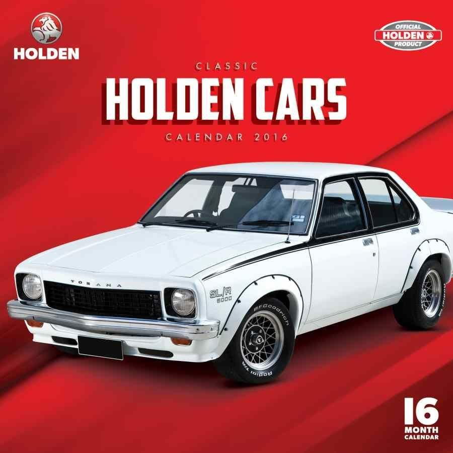 New Classic Holden Cars 2016 Wall Calendar Calendar Club On This Month